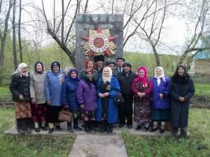 Ветераны тыла с.Енапаево, 7.05.2012 г.